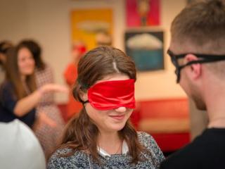семинар Тренинг «Практики с закрытыми глазами» в Киеве - 8
