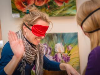 семинар Тренинг «Практики с закрытыми глазами» в Киеве - 9