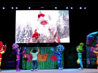 спектакль Новогоднее Фикси шоу. Спасатели времени в Хмельницком - 7
