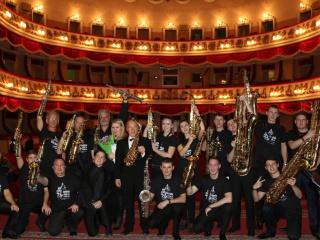 Концерт Ukrainian Saxophone Ensemble в Виннице - 4