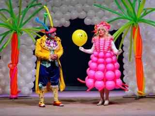 спектакль Новогоднее Шар-Шоу! в Мариуполе - 5
