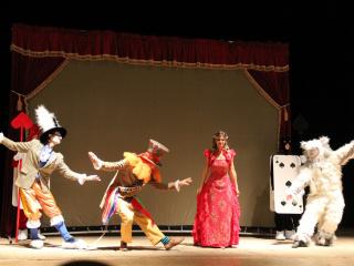 спектакль Песочная сказка «Алиса в стране чудес» в Львове - 4