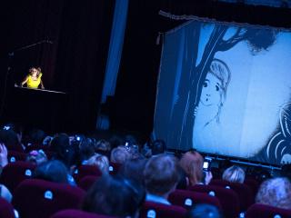 спектакль Песочная сказка «Алиса в стране чудес» в Львове - 7