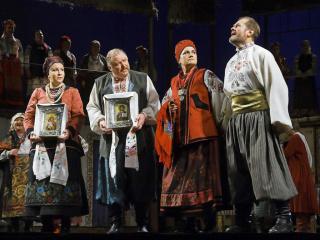 спектакль Кайдашева семья в Запорожье - 4