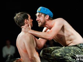 спектакль Вий2.0 (Дикий театр) в Одессе - 2