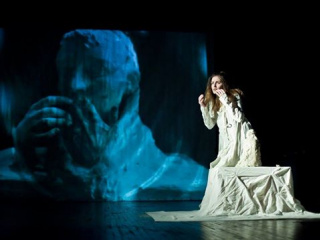 theatre performance The woman in a lens! (Teatr Obraz) in Kyiv - 6
