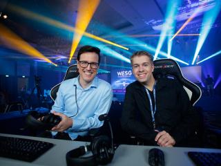 фестиваль Чемпионат мира по компьютерным играм. WESG. Финальный этап Европа и СНГ в Киеве - 11