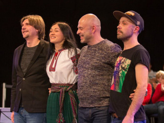 Концерт 23/2 проект «Спиванки», (Украина) / проект Макса Гладецкого и Юрия Шепеты (Украина) в Виннице - 6
