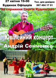 Концерт Андрея Сенченко