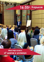 Николай Воеводин. Мастер-класс «7 шагов к успеху»