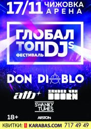 Тур на Globa lTopDJs в Минске из Полтавы