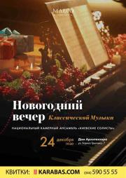 Новогодний вечер классической музыки