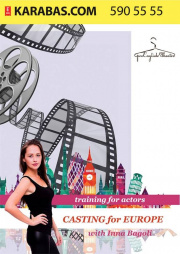 Casting for Europe with Inna Bagoli, a training for actors