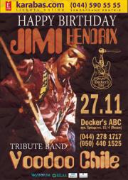 Voodoo Chile - Jimi Hendrix Tribute Band