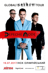 Depeche Mode. Global Spirit Tour. Kyiv 2017