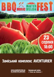 BBQ MUSIC watermelon FEST