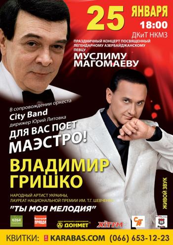 Концерт Владимир Гришко в Краматорске - 1