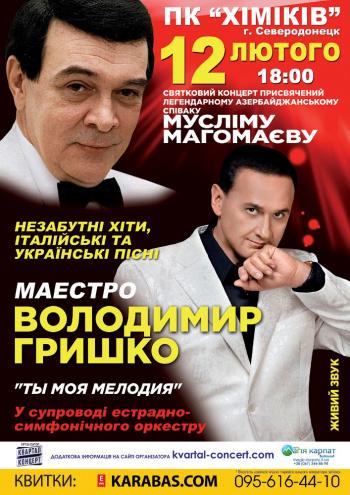 Концерт Владимир Гришко в Северодонецке - 1