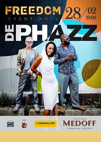 Concert DE PHAZZ in Kyiv