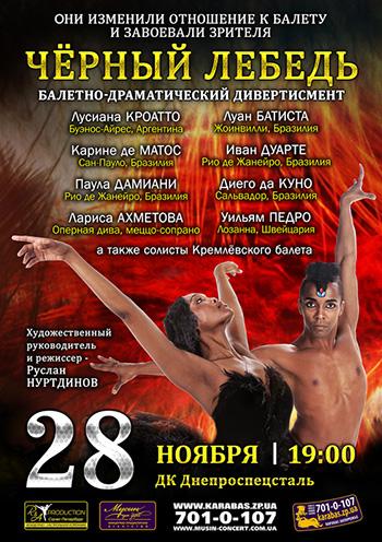 спектакль Черный лебедь в Запорожье