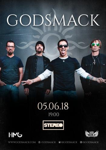 Godsmack у Києві
