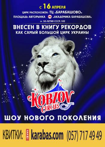 Концерт Шоу нового поколения Ангелы цирка. Цирк Кобзов в Харькове - 1
