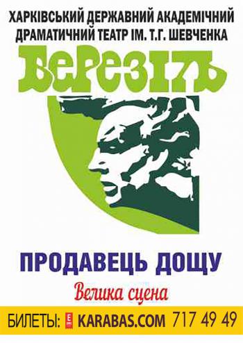 спектакль Продавец дождя в Харькове