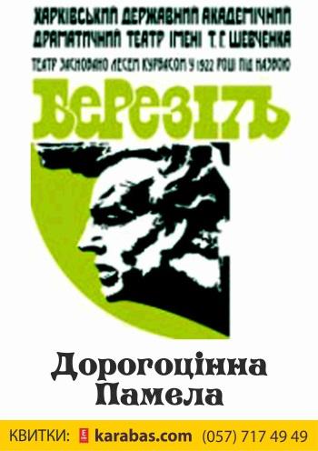спектакль Драгоценная Памела в Харькове