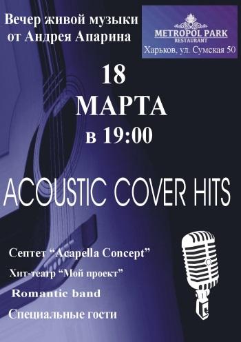 Концерт Acoustic Cover Hits в Харькове