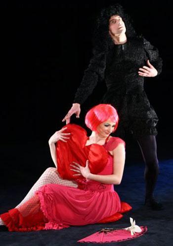спектакль Дон Гуан. Пантоміма для розумників в Киеве