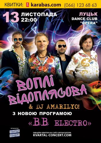 Концерт ВВ электро в Луцке