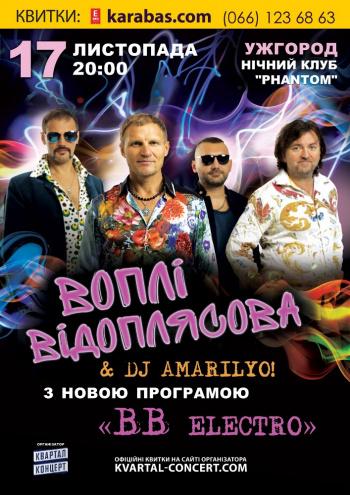 Концерт ВВ электро в Ужгороде