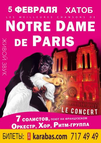 Концерт Les meilleures chansons de NOTRE DAME de PARIS / Нотр-Дам де Пари в Харькове - 1