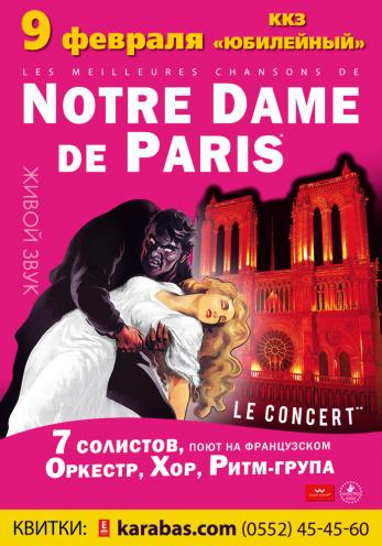 Концерт Les meilleures chansons de NOTRE DAME de PARIS / Нотр-Дам де Пари в Херсоне - 1