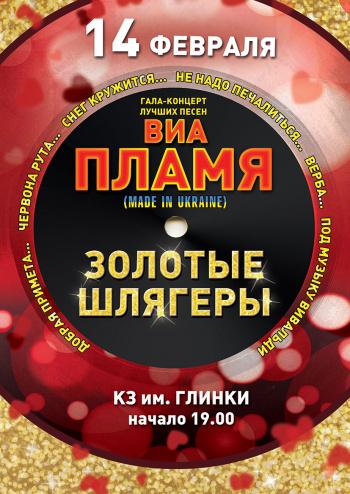 Концерт ВИА «ПЛАМЯ». Золотые шлягеры в Запорожье - 1