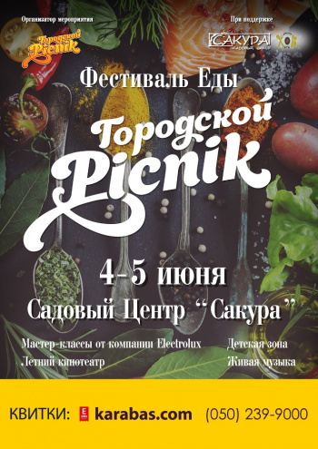 фестиваль Фестиваль еды - Городской Picnik в Днепре (в Днепропетровске)