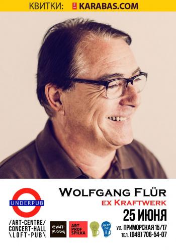 Концерт Wolfgang Flur в Одессе