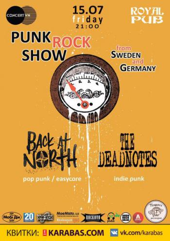 Концерт Punk Rock Show в Виннице