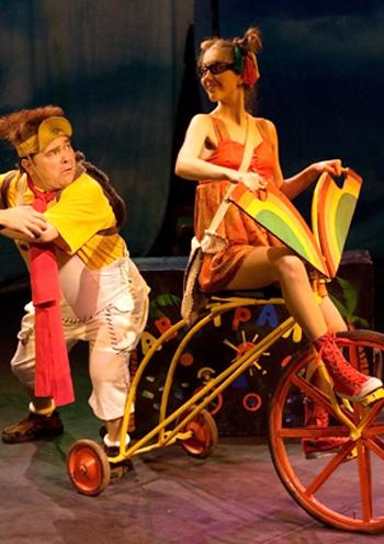 спектакль Велосипед з червоними колесами в Киеве