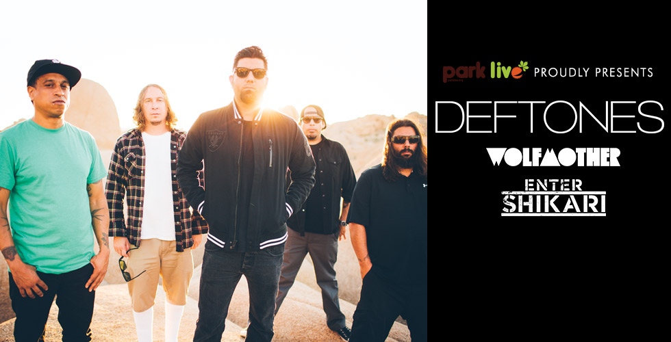 Deftones, Wolfmother � Enter Shikari (park live)